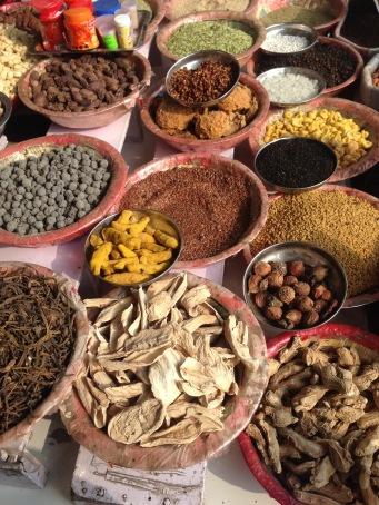 Morning markets in Delhi